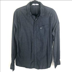 Volcom casual button down shirt size large